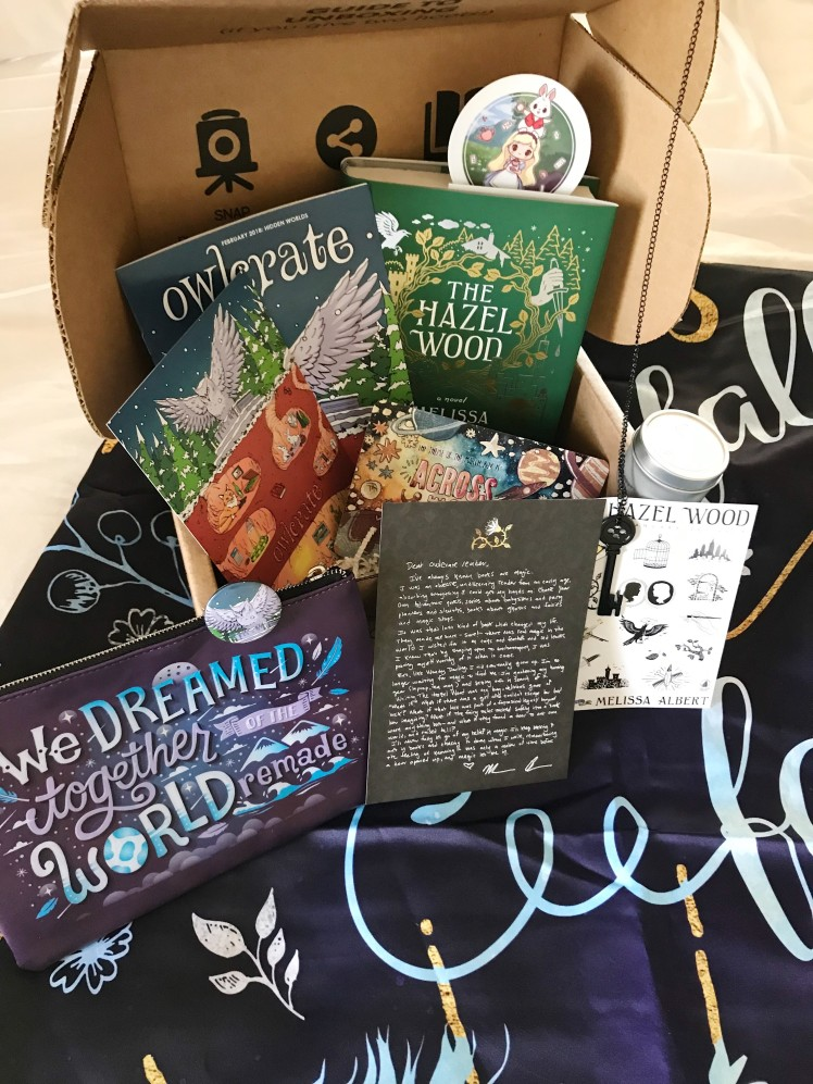 OwlCrate 2018 February1