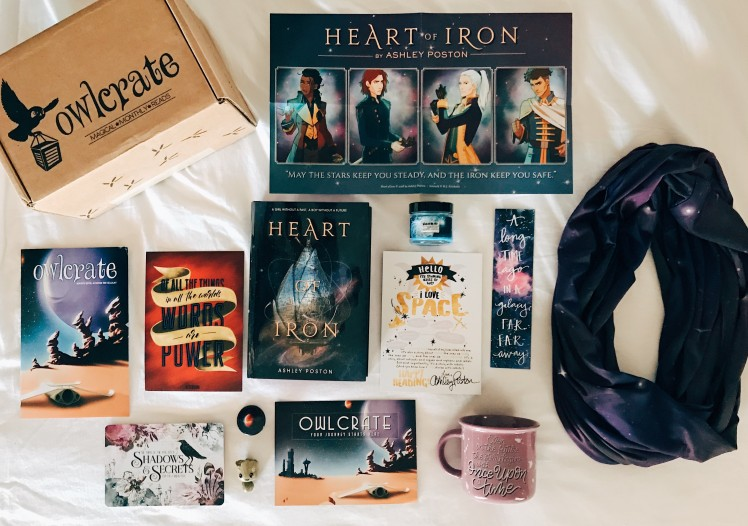 OwlCrate 2018 March1