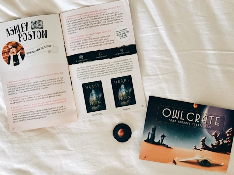 OwlCrate 2018 March9