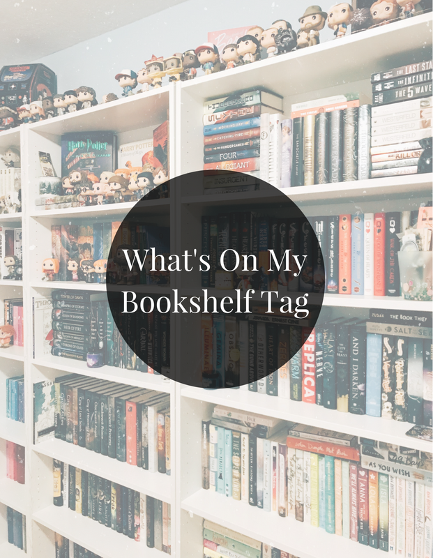What's On My Bookshelf Tag
