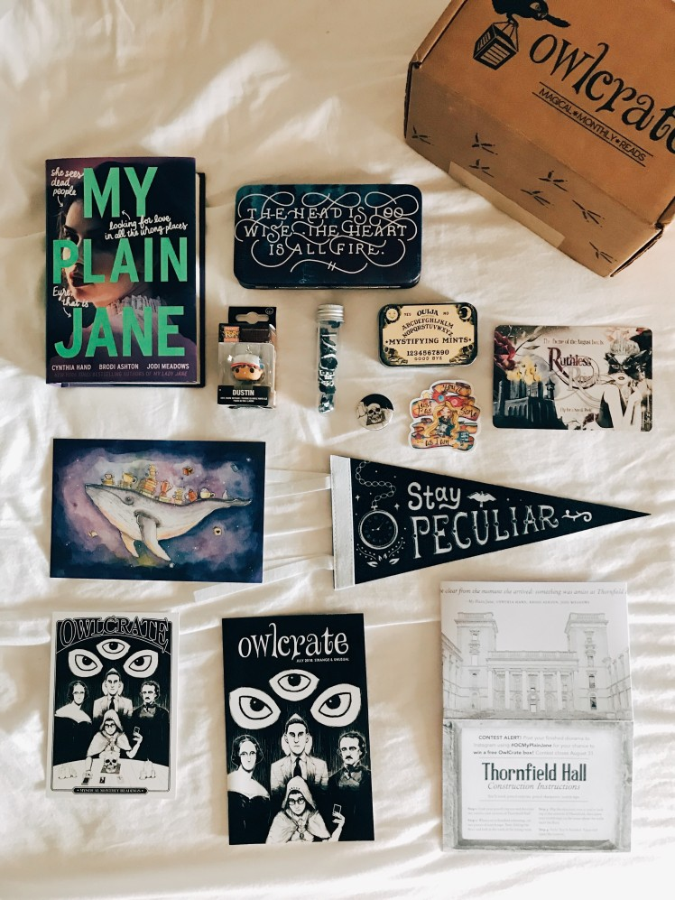 OwlCrate 2018 July1