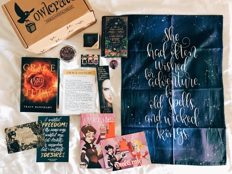 OwlCrate 2018 August1