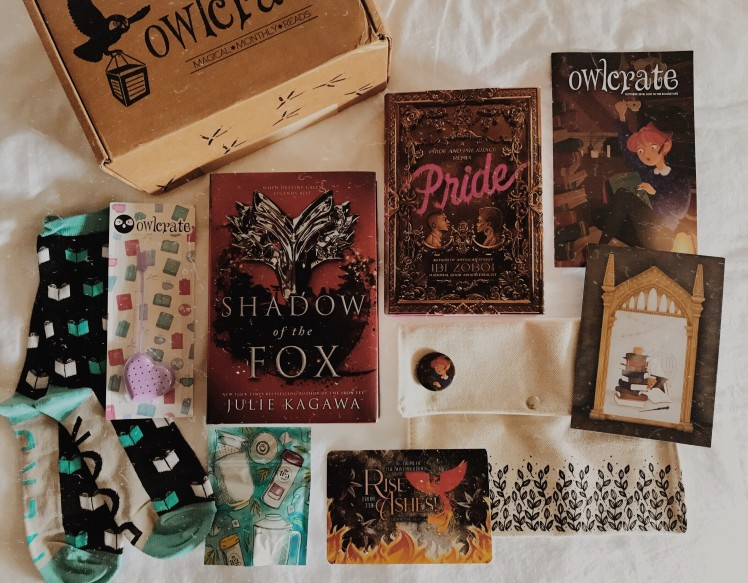 OwlCrate 2018 October12
