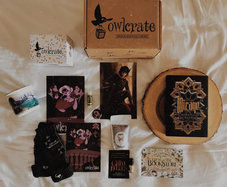 OwlCrate 2018 September1