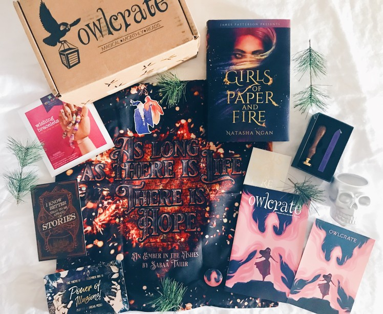 OwlCrate - November 2018 - 1